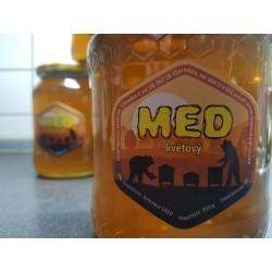 Prodej medu Miroslav Hrebíček- Všeradice- okres Beroun