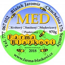 Prodej medu- Jaromír Blažek- okres Semily