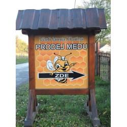Včelí farma Křovina- okres Mladá Boleslav